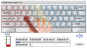 Online Typing Training For Special Needs